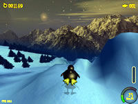 Extreme Tux Racer screenshot